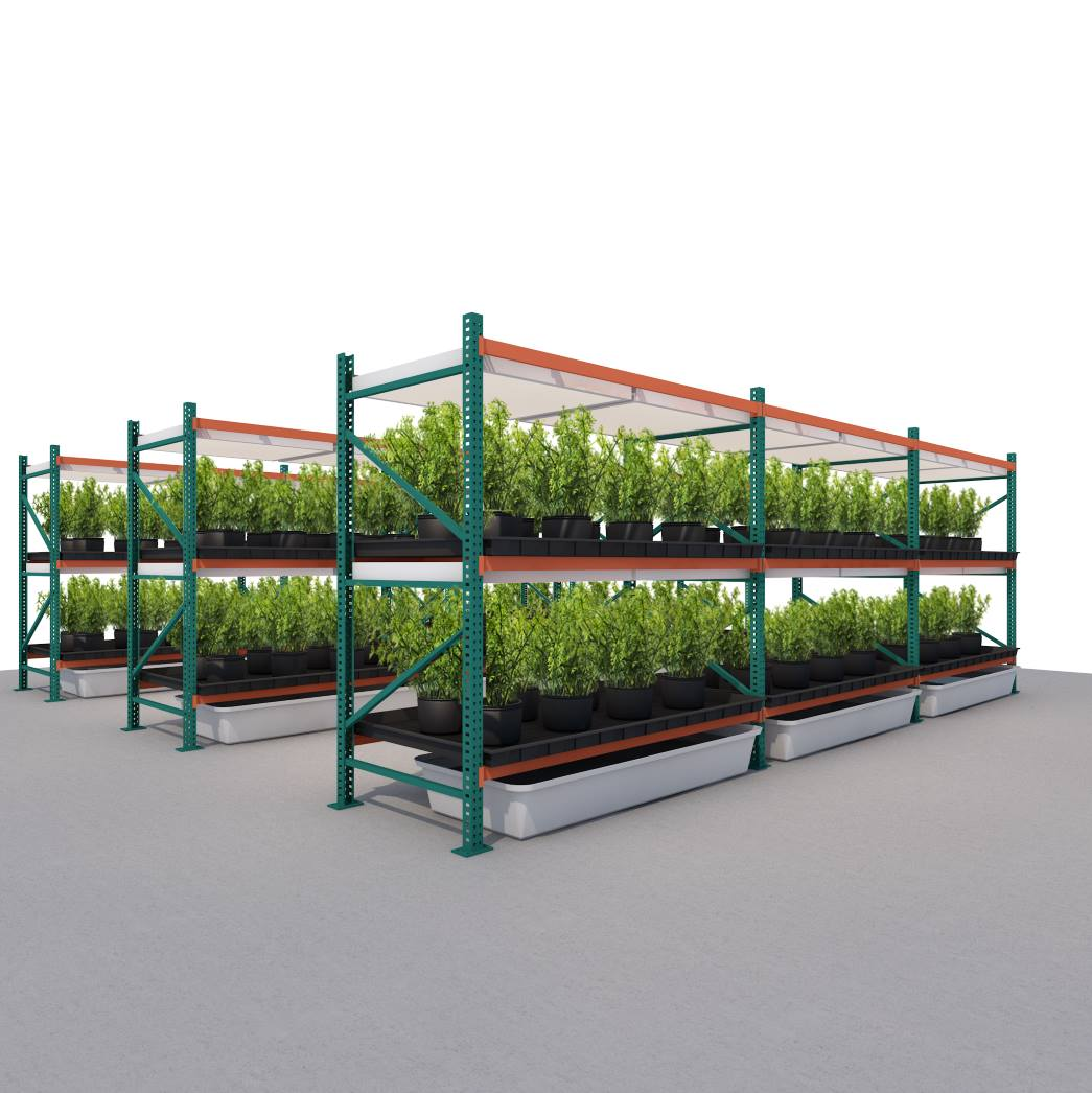 8'H X 3.5'W X 8'L Vertical Grow Garden Rack
