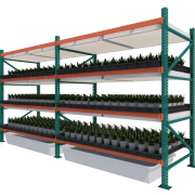 Fixed Vertical Grow Rack | Vertical Growing Systems | GrowHigher