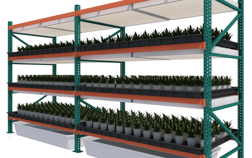 Fixed Vertical Grow Rack