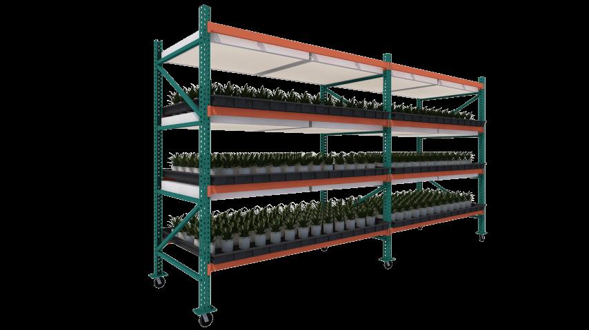 Vertical Grow Rack | Vertical Rack Systems | GrowHigher